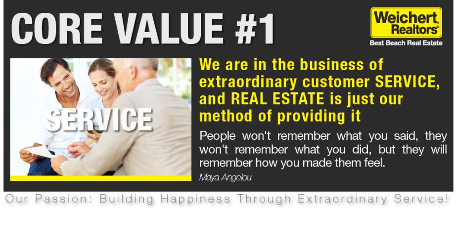 Service Core Value