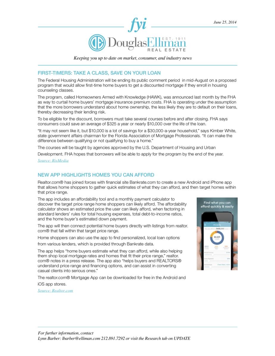 FYI Newsletter2 06.25.2014