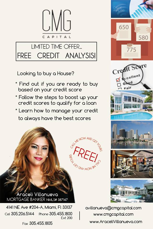 FREE CREDIT ANALYSIS