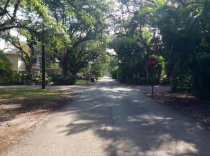 Street Facing East