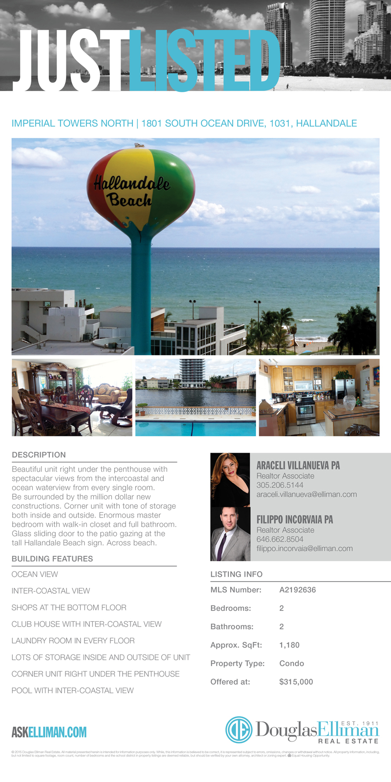 Just Listed 1801