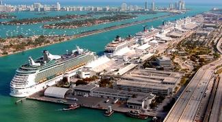 Cruise ships PortMiami