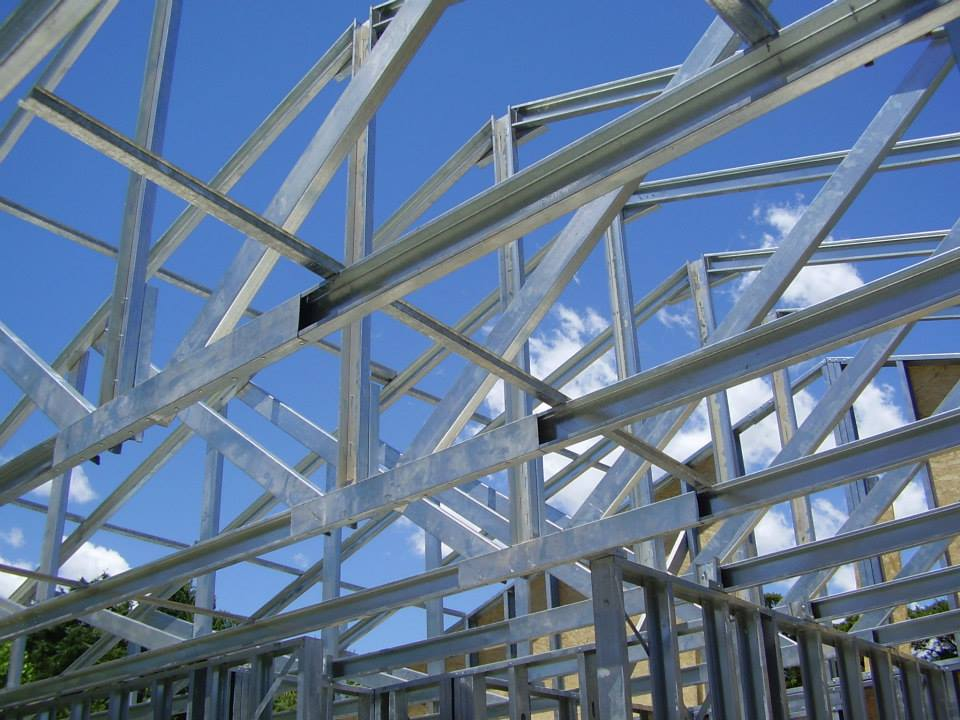 Eco Friendly Construction: Steel Framing (5/6)